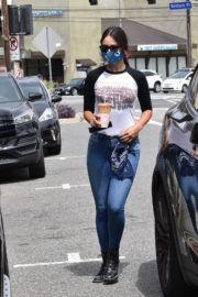 Eiza Gonzalez Out for Coffee in Los Angeles 2020/06/06 10