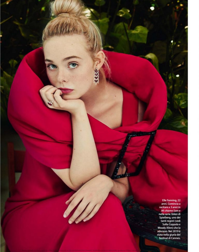Elle Fanning Cover Photoshoot in F Magazine, June 2020 1