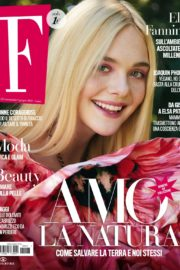 Elle Fanning Cover Photoshoot in F Magazine, June 2020 3
