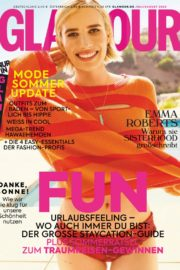 Emma Roberts in Glamour Magazine, Germany July/August 2020 3