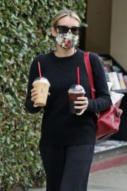 Emma Roberts Out for Coffee in Los Angeles 2020/06/05 2