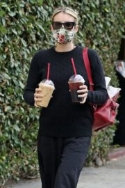 Emma Roberts Out for Coffee in Los Angeles 2020/06/05 10