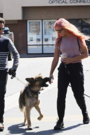 Emma Slater Out with Her Dogs in Los Angeles 2020/06/14 6