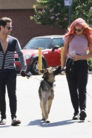 Emma Slater Out with Her Dogs in Los Angeles 2020/06/14 7