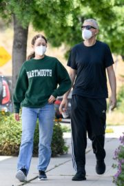Emmy Rossum and Sam Esmail Out in Toluca Lake 2020/05/31 4