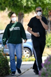 Emmy Rossum and Sam Esmail Out in Toluca Lake 2020/05/31 5