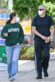 Emmy Rossum and Sam Esmail Out in Toluca Lake 2020/05/31 8