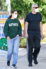 Emmy Rossum and Sam Esmail Out in Toluca Lake 2020/05/31 9