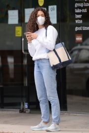 EMMY ROSSUM in Denim Out in Los Angeles 06/06/2020 1