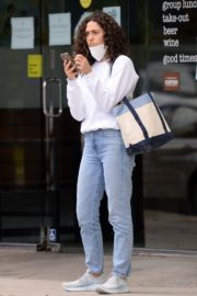 Emmy Rossum in Denim Out in Los Angeles 2020/06/06 2