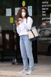 Emmy Rossum in Denim Out in Los Angeles 2020/06/06 5