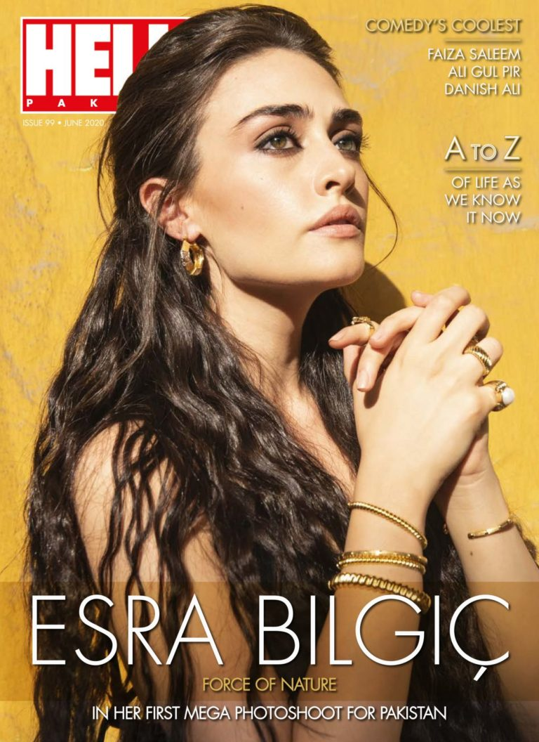 Esra Bilgic in Hello! Magazine, Pakistan Digital Issue June 2020 21