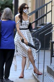 Famke Janssen Out and About in New York 2020/06/13 2