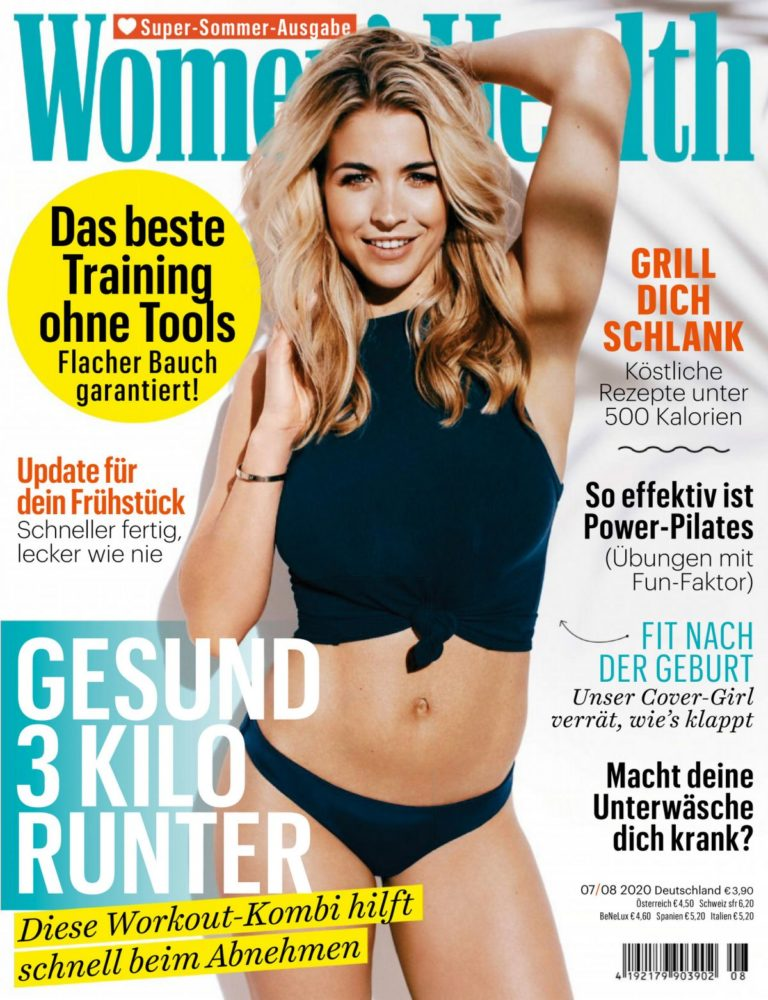 Gemma Atkinson in Women's Health Magazine, Germany July/August 2020 4