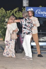 Goldie Hawn and Kurt Russel Out for Dinner in Malibu 2020/06/10 2