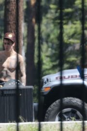 Hailey and Justin Bieber Working Out in Lake Tahoe 2020/06/13 1