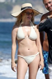 Heather Graham in White Bikini at a Beach in Malibu 2020/06/08 3