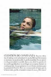 Helena Christensen in Harper's Bazaar Magazine, Spain July/August 2020 11