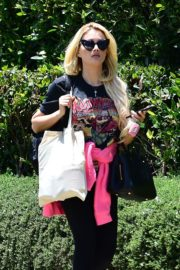 Holly Madison Out in West Hollywood 2020/06/15 10