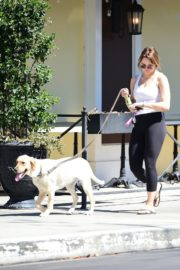 Hunter Haley King Out with Her Dog in Los Angeles 2020/06/11 8