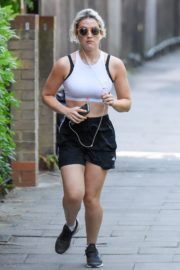 India Mullen Out Jogging in London 2020/06/03 2