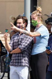 Ireland Baldwin at a Black Lives Matter Protest in Los Angeles 2020/06/01 1