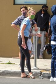 Ireland Baldwin at a Black Lives Matter Protest in Los Angeles 2020/06/01 4