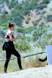 Ireland Baldwin Out Hiking in Los Angeles 2020/06/09 1