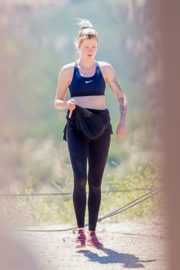 Ireland Baldwin Out Hiking in Los Angeles 2020/06/09 13