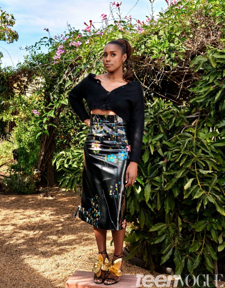 Issa Rae for Teen Vogue Magazine April 2020 Issue 4