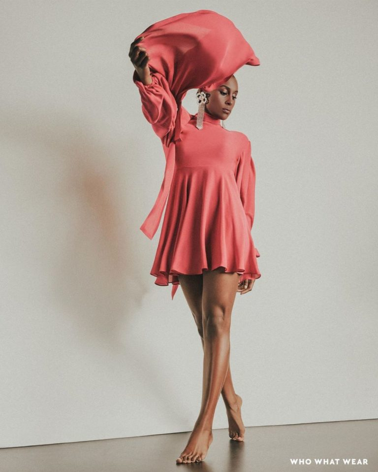 Issa Rae for Who What Wear, January 2020 4