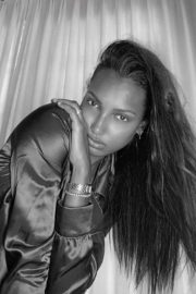 Jasmine Tookes at a Black and White Photoshoot 2020/05/08 3