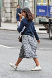 Jenna-Louise Coleman Out and About in London 2020/06/04 1
