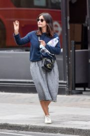 Jenna-Louise Coleman Out and About in London 2020/06/04 3