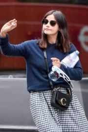 Jenna-Louise Coleman Out and About in London 2020/06/04 12