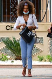Jessica Aidi Shopping at Chanel Store 2020/06/09 9