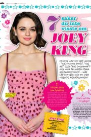 Joey King in Julia Magazine, June 2020 Issue 2