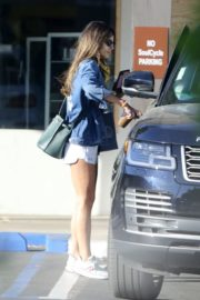 Jordana Brewster in Shorts Out in Los Angeles 2020/06/13 1