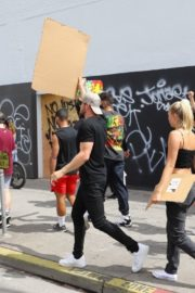 Josie Canseco at Black Lives Matter Protest in Los Angeles 2020/06/02 1