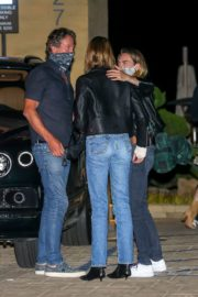 Kaia Gerber and Cara Delevingne Out for Dinner at Nobu in Malibu 2020/06/09 6