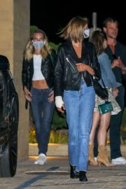 Kaia Gerber and Cara Delevingne Out for Dinner at Nobu in Malibu 2020/06/09 10