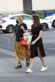 Katharine McPhee at Il Pastaio in Beverly Hills 2020/06/11 2