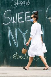 Katie Holmes Out and About in New York 2020/06/12 2
