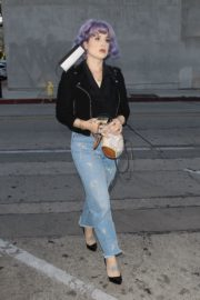 Kelly Osbourne Arrives at Craig's Restaurant in West Hollywood 2020/06/08 2