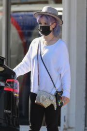 Kelly Osbourne at Healthy Spot Pet Supply Store in Los Angeles 2020/06/10 10