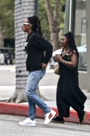 Kelly Rowland Arrives at a Doctor's Office in Beverly Hills 2020/06/05 4