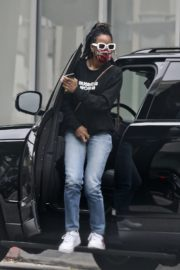 Kelly Rowland Arrives at a Doctor's Office in Beverly Hills 2020/06/05 6