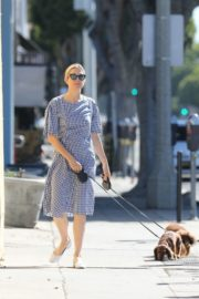 Kelly Rutherford Out with Her Dogs in Santa Monica 2020/06/10 4