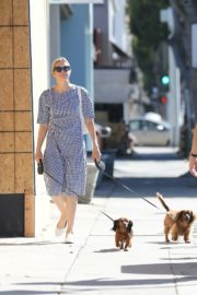 Kelly Rutherford Out with Her Dogs in Santa Monica 2020/06/10 9