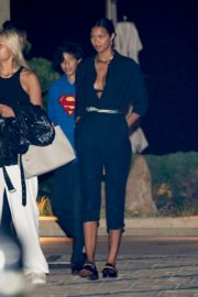 Lais Ribeiro at Nobu in Malibu 2020/06/12 2
